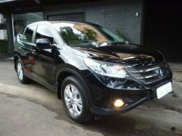 Honda Cr v LX 2.0 2013 Automatica 115 mkm bcos couro cinza Raridade