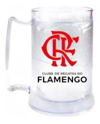 Caneca Flamengo Oficial Gel Congelante 400ml Bicampeão