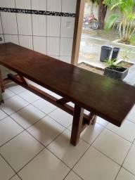 Mesa de madeira $2.500