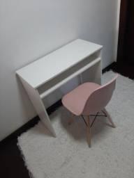 Escrivaninha Branca +Cadeira