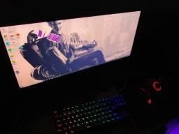 Pc gamer top + cadeira gamer