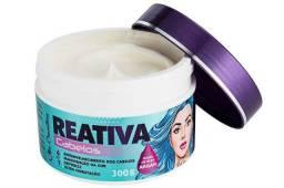 Reativa cabelos aloe cosmético