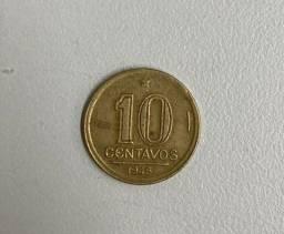 Título do anúncio: Moeda antiga 10 centavos Getúlio Vargas 1945
