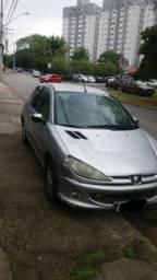 Título do anúncio: Peugeot 1.6 ano 2000 troco em carro 1.0