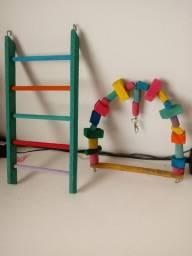 Brinquedo Calopsita papagaio etc...