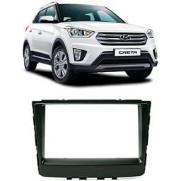 Título do anúncio: Moldura Painel 2din Hyundai Creta 2017 - 2020