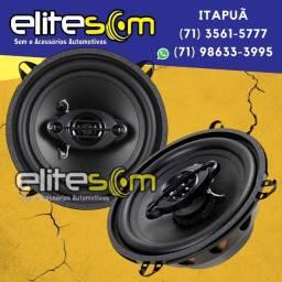 Par Alto-Falante 5x5 ou 6x6 Quadriaxial 100WRms instalado na Elite Som