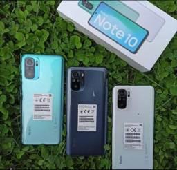 Smartphone Redmi Note 10 128GB/6GB Ram Branco/Cinza/Verde