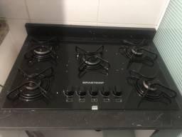 Fogão cooktop Brastemp 5 bocas