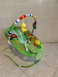 Cadeira de descanso vibratória e musical