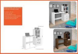 escrivaninha escrivaninha com estante