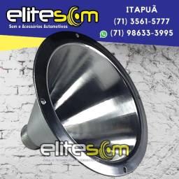 Expansor Corneta de Alumínio instalado na Elite Som