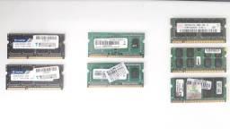 Memórias para Notebook DDR3 e DDR2 Leiam o anuncio!