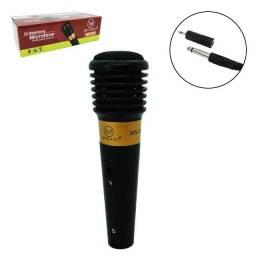 microfone profissional dinâmico novo lacrado