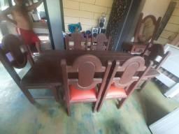 Mesa jacarandá 6 cadeiras
