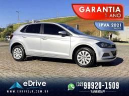 Título do anúncio: VolksWagen Polo 1.0 Flex 12V 5p - IPVA 2021 Pago - Carro Muito Novo - Uber - 2019