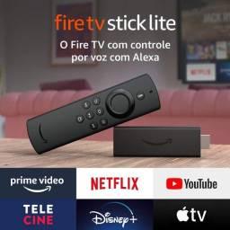 Fire TV Stick   Controle Remoto Lite por Voz com Alexa