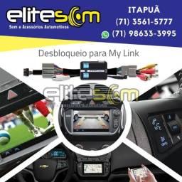 Desbloqueio My Link Chevrolet na Elite Som