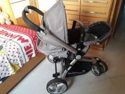 Título do anúncio: Carrinho de Bebê + Bebê Conforto Kiddo Compass II