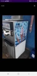 Oportunidade!  Maquina de sorvete italiano 3 sabores