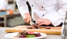 Título do anúncio: Vaga cheff de cozinha e cozinheiro (a) profissional