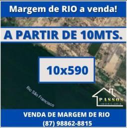 Título do anúncio: Margem de Rio à venda próximo a barragem de sobradinho.