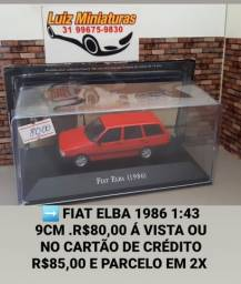Miniatura Fiat Elba