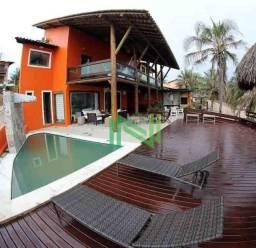 Casa com 4 dormitórios para alugar, 160 m² por R$ 2.000,00/dia - Coqueiro Da Praia - Luis