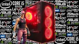 PC Gamer<>i5-10400F + GTX 1650 4GB<>Novo c/ Garantia!