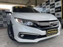 Título do anúncio: Honda civic 2020 2.0 16v flexone exl 4p cvt