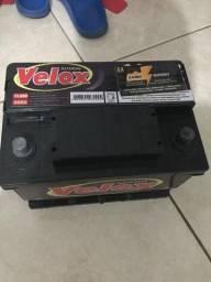 Vendo Bateria Velox NOVA na Garantia de 1 ano