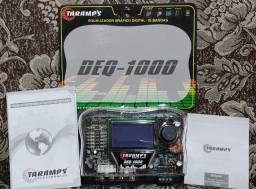 Título do anúncio: Equalizador Digital Taramps DEQ-1000 Display LCD Gráfico 15 Bandas