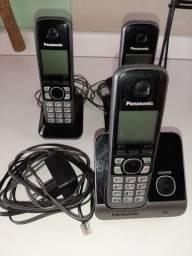 Conjunto Telefones Sem Fio Panasonic