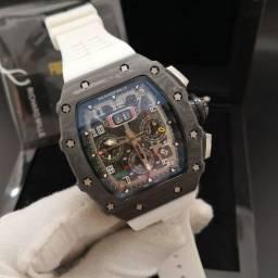 Relógio Richard Mille Automático Branco