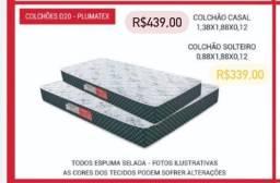 ANTIGUIDADE COLCHÃO DE DE CASAL E DE SOLTEIRO