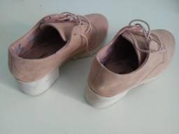 Sapato Feminino Infantil Bege