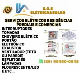 serviços em eletrica residencial e predial