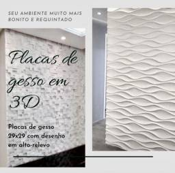 Placas de Gesso em 3D