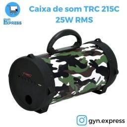 Caixa de som TRC 215C Camuflada 25W RMS