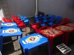 Mesas e Cadeiras Brahma e Antarctica