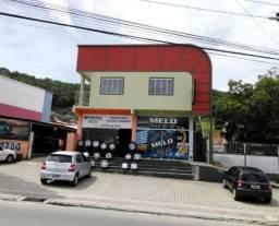 Aluga-se Sala Comercial Fundos em Forquilhinhas (na Rua Geral) 3035-5585