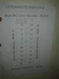 Lote no loteamento Agrovila/Alphaville Fazendinha