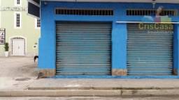 Loja comercial para locação, Jardim Mariléa, Rio das Ostras.
