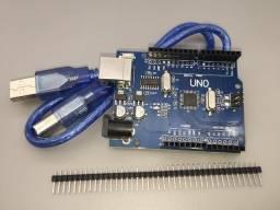 Arduino Uno R3 Atmega328 Smd Com Cabo (novo)