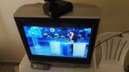 TV 21' tela plana