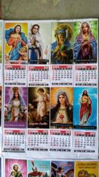 Imãs com calendário ano 2020