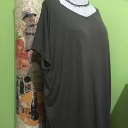 OPORTUNIDADE-Vestido Casual café - NOVO