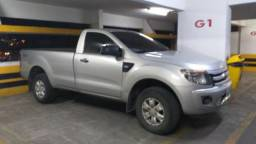 Camionete picape ford ranger XLS 3.2 hilux frontier s10 cabine simples ano 2013 - 2013