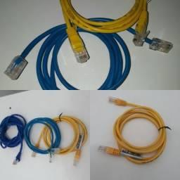 Cabo Internet RJ45 p/ computador, modem, roteador, note, tv, video game