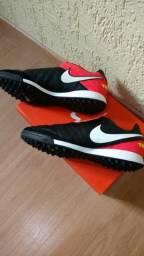 Chuteira F7 Nike Tiempo Mystic V TF tam.38 71ec8508ab0cc